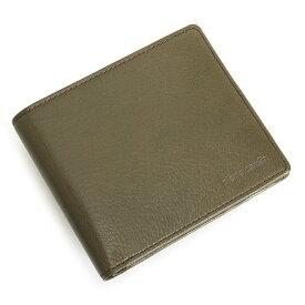 ピエールカルダン 財布 二つ折り財布 カード&札 カーキ Pierre Cardin pcs672-54 メンズ 紳士