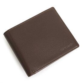 ピエールカルダン 財布 二つ折り財布 カード&札 チョコ Pierre Cardin pcs672-71 メンズ 紳士