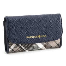 パトリックコックス キーケース 紺(ネイビー) PATRICK COX pxlw6ek1-30 レディース 婦人