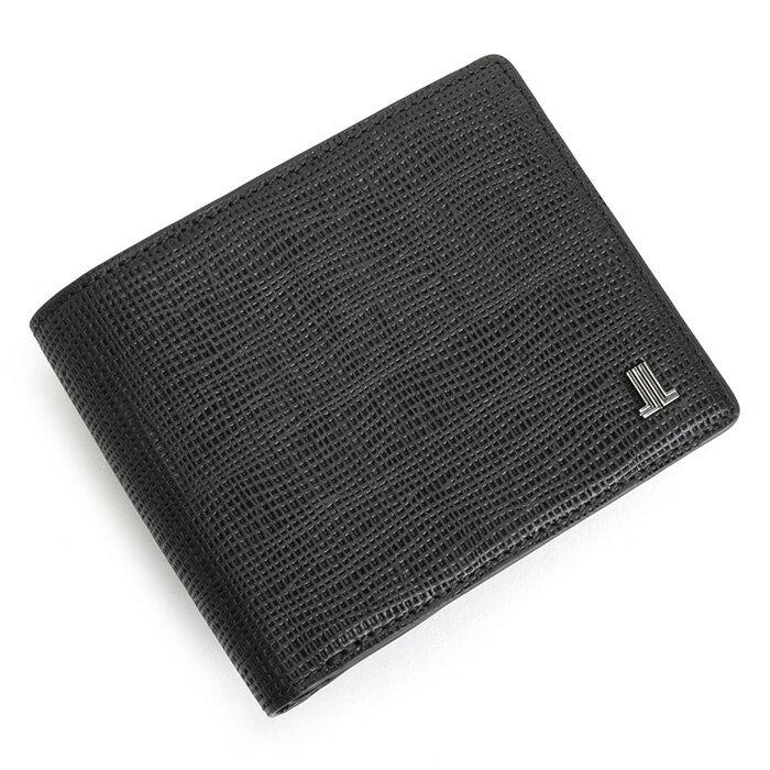 ランバンコレクション 財布 二つ折り財布 黒(ブラック) LANVIN collection jlmw6ps2-10 メンズ 紳士