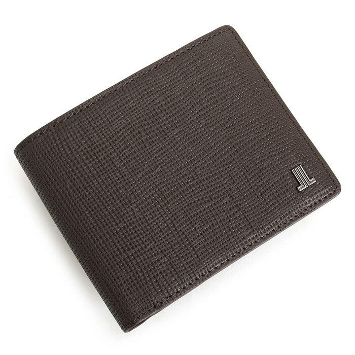 展示品箱なし ランバンコレクション 財布 二つ折り財布 チョコ LANVIN collection jlmw6ps2-20 メンズ 紳士