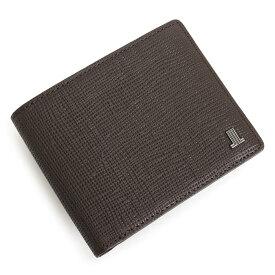 ランバンコレクション 財布 二つ折り財布 チョコ LANVIN collection jlmw6ps2-20 メンズ 紳士