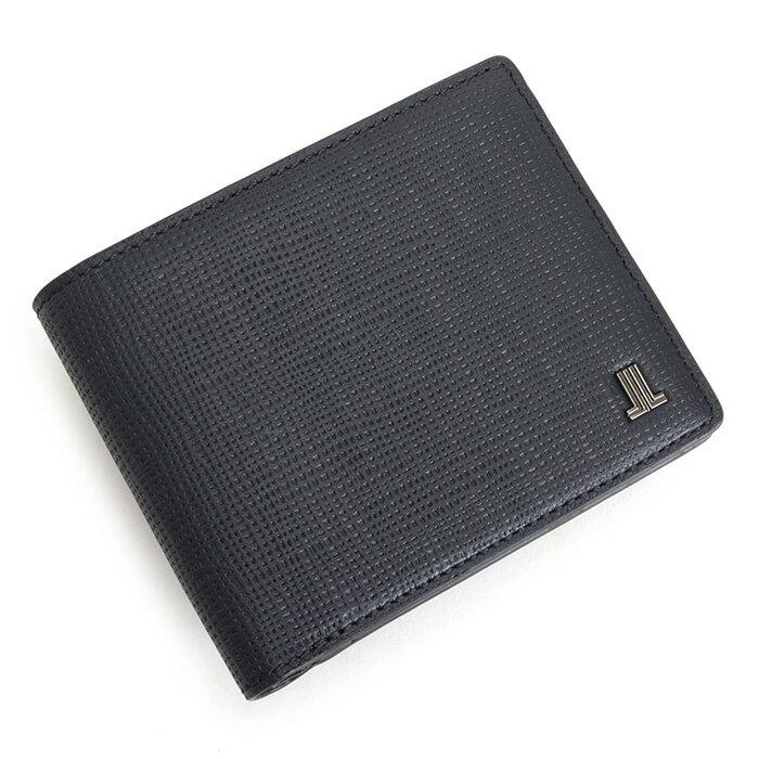 展示品箱なし ランバンコレクション 財布 二つ折り財布 紺(ネイビー) LANVIN collection jlmw6ps2-30 メンズ 紳士