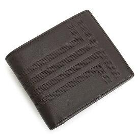 ランバンコレクション 財布 二つ折り財布 カード&札 チョコ LANVIN collection jlmw6rs1-20 メンズ 紳士