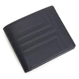 ランバンコレクション 財布 二つ折り財布 カード&札 紺(ネイビー) LANVIN collection jlmw6rs1-30 メンズ 紳士