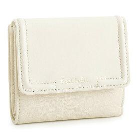 <クーポン配布中>ポールスミス 財布 二つ折り財布 白(ホワイト) Paul Smith pwu823-60 レディース 婦人