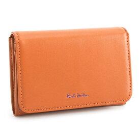 <クーポン配布中>ポールスミス 財布 二つ折り財布 オレンジ Paul Smith pwd013-42 レディース 婦人