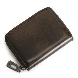 <クーポン配布中>パトリックコックス 財布 小銭入れ コインケース ラウンドファスナー チョコ PATRICK COX pxmw6xc1-20 メンズ 紳士