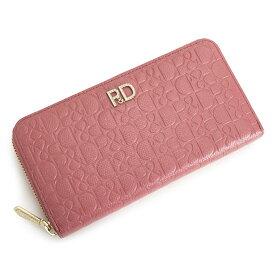 展示品箱なし ピンキー&ダイアン 財布 長財布 ラウンドファスナー ピンク Pinky&Dianne pdlw7at4-48 レディース 婦人
