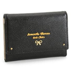 サマンサタバサ 財布 小銭入れ コインケース 名刺入れ パスケース 黒(ブラック) SamanthaThavasaPetitChoice 65012-00 レディース 婦人