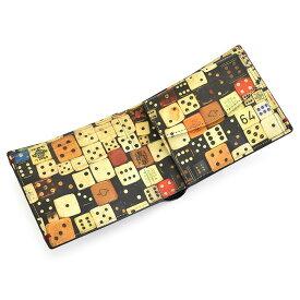 <クーポン配布中>ポールスミス 財布 二つ折り財布 黒(ブラック)/ダイス Paul Smith psc091-18 メンズ 紳士