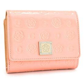 <クーポン配布中>展示品箱なし クレイサス 財布 二つ折り財布 がま口財布 薄ピンク(ベビーピンク) CLATHAS 184393-37 レディース 婦人