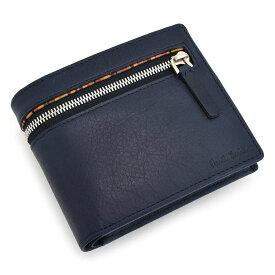 <クーポン配布中>ポールスミス 財布 二つ折り財布 紺(ネイビー) Paul Smith psu814-30 メンズ 紳士