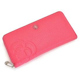 <クーポン配布中>クレイサス 財布 長財布 ラウンドファスナー ピンク CLATHAS 187971-32 レディース 婦人