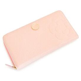 <クーポン配布中>クレイサス 財布 長財布 ラウンドファスナー サクラ(薄ピンク系のお色です。) CLATHAS 188150-33 レディース 婦人