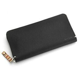 <クーポン配布中>ポールスミス(Paul Smith)財布 長財布〈黒〉(psk869-10)ブラック メンズ