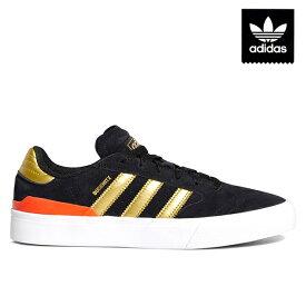 【adidas skateboarding】BUSENITZ VULC 2 カラー:black/gold/red EF8470 アディダス デニス ブセニッツ スケートボード スケボー シューズ 靴 スニーカー SKATEBOARD SHOES