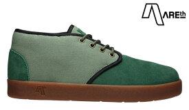 【AREth】BULIT カラー:green / lt.green アース ブリット シューズ 靴 スニーカー スケートボード スケボー SKATEBOARD