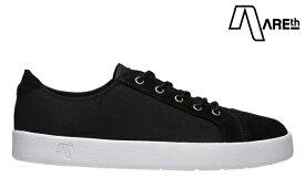 【AREth】LOLL カラー:black アース ロウ シューズ 靴 スニーカー スケートボード スケボー SKATEBOARD