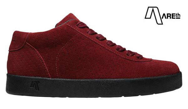 【AREth】LB カラー:burgundy 【アース】【スケートボード】【シューズ】