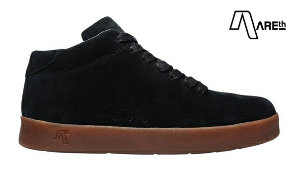 【AREth】II カラー:black/gum 【アース】【スケートボード】【シューズ】