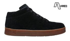 【AREth】II カラー:black/gum アース シューズ 靴 スニーカー スケートボード スケボー SKATEBOARD