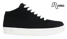【AREth】II カラー:black/white アース シューズ 靴 スニーカー スケートボード スケボー SKATEBOARD