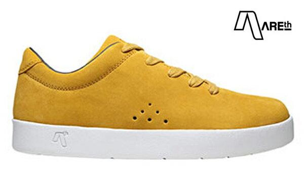 【AREth】I lace カラー:mustard 【アース】【スケートボード】【シューズ】