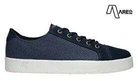 【AREth】LOLL カラー:navy アース ロウ シューズ 靴 スニーカー スケートボード スケボー SKATEBOARD