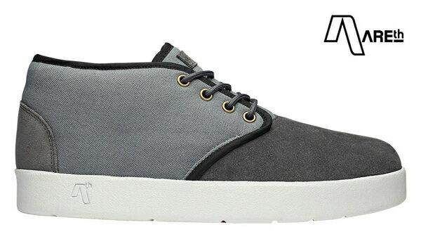 【AREth】BULIT カラー:gray 【アース】【スケートボード】【シューズ】