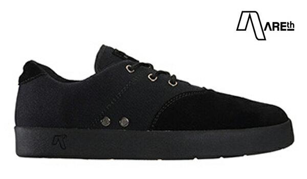 【AREth】PLUG カラー:all black 【アース】【スケートボード】【シューズ】