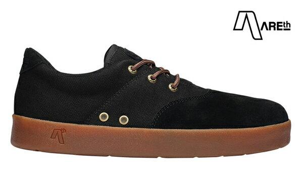 【AREth】PLUG カラー:black gum 【アース】【スケートボード】【シューズ】