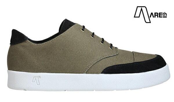 【AREth】LOX カラー:olive 【アース】【スケートボード】【シューズ】