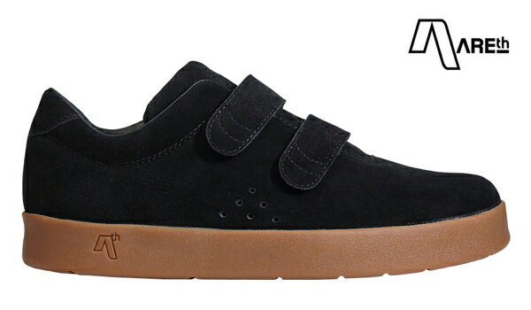【AREth】I velcro カラー:black gum【アース】【スケートボード】【シューズ】