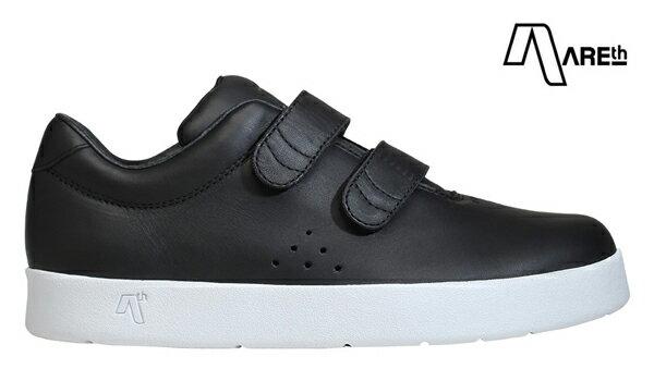 【AREth】I velcro カラー:black leather 【アース】【スケートボード】【シューズ】
