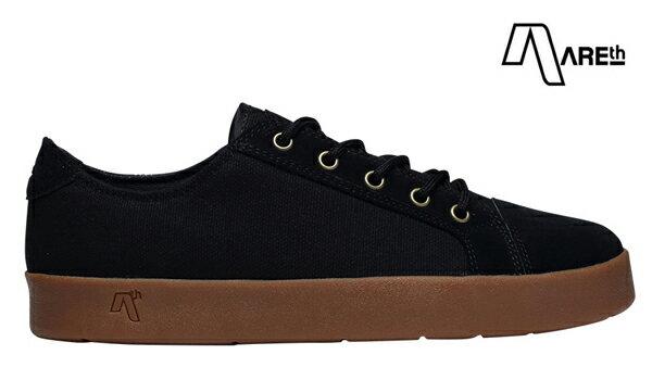 【AREth】LOLL カラー:black gum 【アース】【スケートボード】【シューズ】
