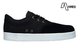 【AREth】PLUG カラー:black アース プラグ シューズ 靴 スニーカー スケートボード スケボー SKATEBOARD