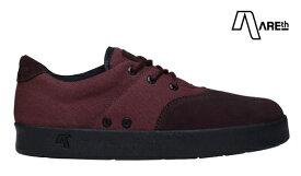 【AREth】PLUG カラー:wine red アース プラグ シューズ 靴 スニーカー スケートボード スケボー SKATEBOARD