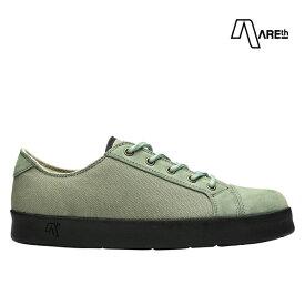 【AREth】LOLL カラー:lt.green アース ロウ シューズ 靴 スニーカー スケートボード スケボー SKATEBOARD