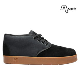 【AREth】BULIT カラー:black gum アース ブリット シューズ 靴 スニーカー スケートボード スケボー SKATEBOARD