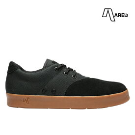【AREth】PLUG カラー:black gum アース プラグ シューズ 靴 スニーカー スケートボード スケボー SKATEBOARD