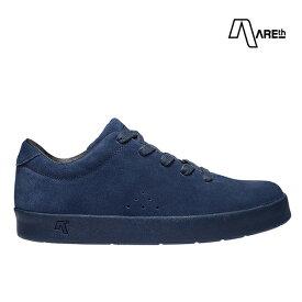 【AREth】I LACE カラー:all navy アース シューズ 靴 スニーカー スケートボード スケボー SKATEBOARD
