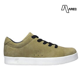 【AREth】I LACE カラー:khaki アース シューズ 靴 スニーカー スケートボード スケボー SKATEBOARD