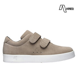 【AREth】I VELCRO カラー:pale brown アース シューズ 靴 スニーカー スケートボード スケボー SKATEBOARD