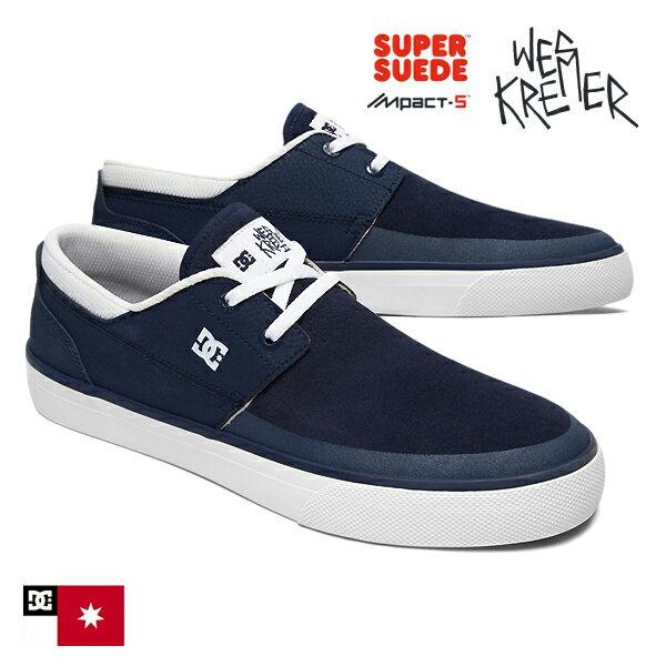 【DC Shoe】WES KREMER 2 Sカラー:NVW (navy/white)<Wes Kremer Signature Model>【ディーシー】【ウェス・クレーマー】【スケートボード】【シューズ】