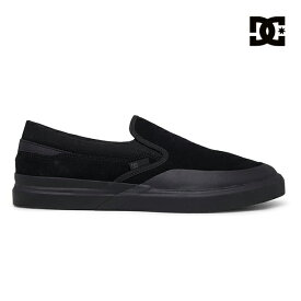 【DC Shoe】INFINITE SLIP-ON S カラー:BLK ディーシー インフィニット スケートボード スケボーシューズ 靴 スニーカー SKATEBOARD SHOES