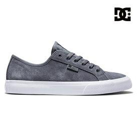 【DC Shoe】MANUAL Sカラー:GRYディーシー マニュアルシューズ 靴 スニーカースケートボード スケボー SKATEBOARD SHOES