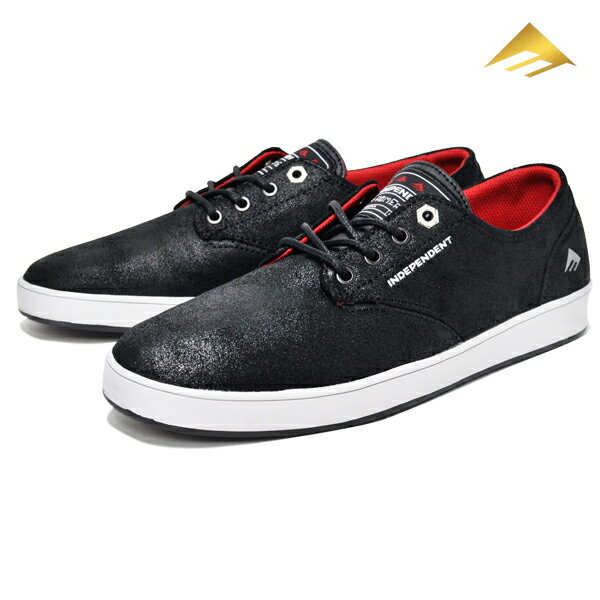 【Emerica×INDEPENDENT】ROMERO LACED カラー:black/grey/black 【エメリカ】【スケートボード】【シューズ】 【23cm/26cm/26.5cm/27cm/27.5cm/28cm】