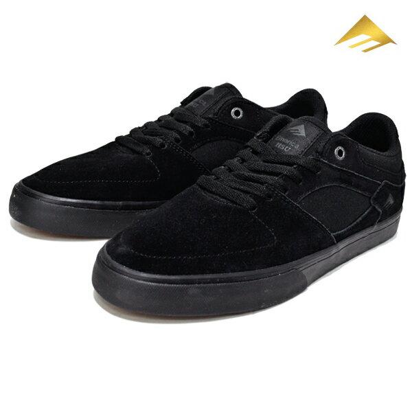 【Emerica】HSU LOW VULC カラー:black/black 【エメリカ】【スケートボード】【シューズ】【ラスト 1足 25.5cm】