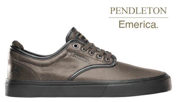 【Emerica×PENDLETON】WINO G6 カラー:dark grey/black 【エメリカ】【スケートボード】【シューズ】